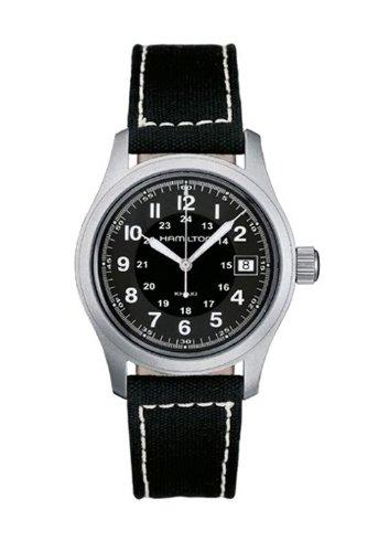 Hamilton H68411233 - Orologio da polso da uomo, cinturino in tessuto colore nero