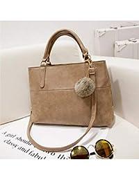 Fashion Women Ladies Leather Tote Handbag Shoulder Bag Messenger Crossbody Purse - B07GC284Y4