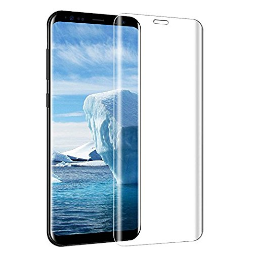 Galleria fotografica Vetro Temperato per Samsung Galaxy S8 Plus, Vitutech S8 Plus Pellicola Protettiva 3D Copertura Completa 9H Anti Graffi Ultra-chiaro Anti Bolle d' aria Protection Film per Galaxy S8 Plus - Trasparente