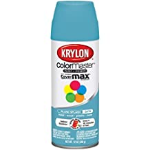 Krylon 1000A-3569 Indoor-Outdoor Aerosol Paint 12 Onzas-Island Splash Satin