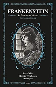 Frankenstein le monstre est vivant 2018 par Steve Niles