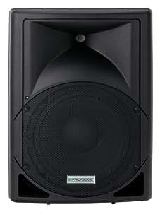"""Pronomic FOX-12A 12"""" (30CM) Aktiv PA Lautsprecher Box (ABS-Gehäuse, 180W RMS / 360 W Peak)"""