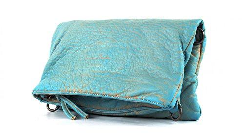 Fritzi aus Preußen Ronja Washed Clutch Tasche 29 cm sky
