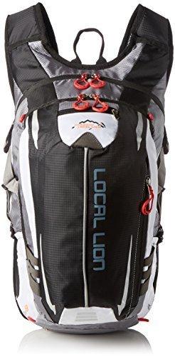 OUTDOOR LOCAL LION 18L Zaino Unisex per Ciclismo Borsa Sportiva da Trekking Escursione Ultraleggero Alpinismo Zaino per Scuola(Porpora)