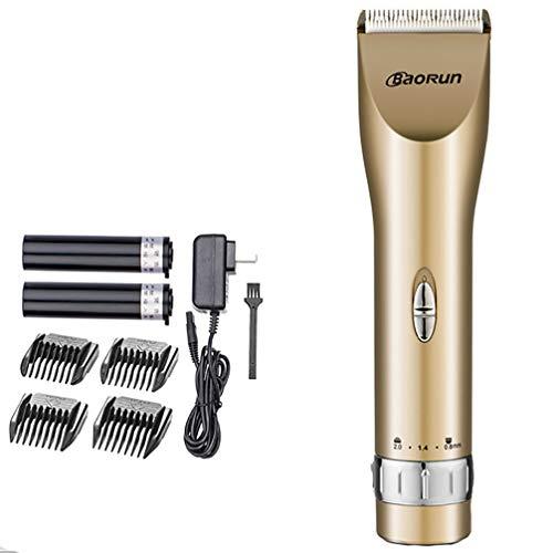 TYUE Cordless Capelli Clipper Professional Hair Trimmer per Gli Uomini di Taglio di Capelli Ricaricabile 2000mAh Li-on Batteria per 400mins 5 Lunghezza impostazioni per Uso familiare