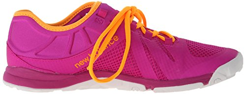 New Balance Women's 20v5 Minimus Training Shoe, Pink/Yellow, 10 B US Pink/Yellow