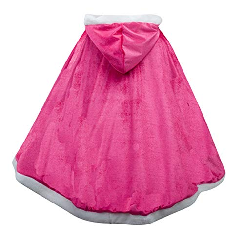 Kind Präsentieren Kostüm - Le SSara Langarm Mädchen Prinzessin Cosplay Kostüme Fancy Schmetterling Kleid (110, PJ-Rose red)
