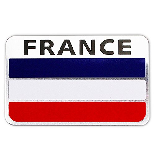 Ouken Frankreich-Flagge Automagnet Aufkleber Frankreich Aufkleber Heavy Duty für Auto-LKW