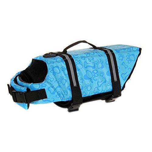 lzn Hundeschwimmweste,Schwimmhilfe, Schwimmweste, Schwimmtraining für Hunde (2XS,XS,S,M,L,XL,2XL)