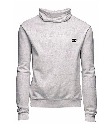 Jack & Jones sweatshirt Jcogola high neck sweat slim Treated White