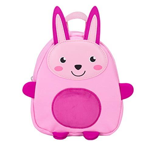 Committede Cute Rabbit Panda Kleine gelbe Ente Dinosaurier Kinder Rucksack Kleine Schultasche für Mädchen Buch Tasche für Kleine Kinder unter 3 Jahr