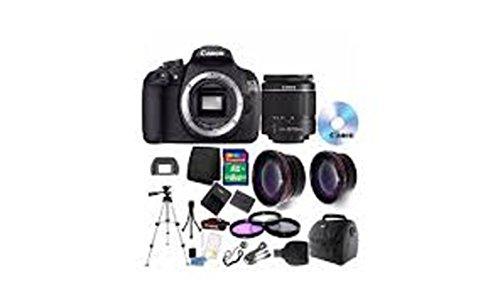 Canon EOS Rebel 1200D/T5Digital SLR Kamera + 18–55mm Objektiv + 58mm Zubehör