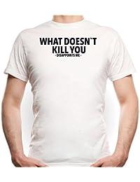 What Doesn`t Kill You... T-Shirt Blanco Certified Freak