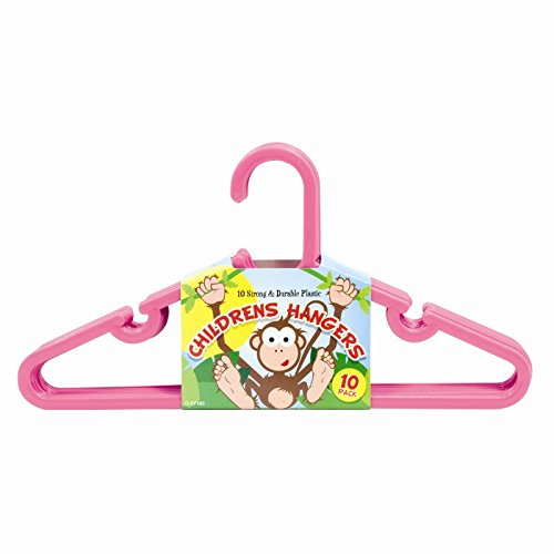 Stalwart O-57163 Hangers, Children's Clothes (Pack of 10)