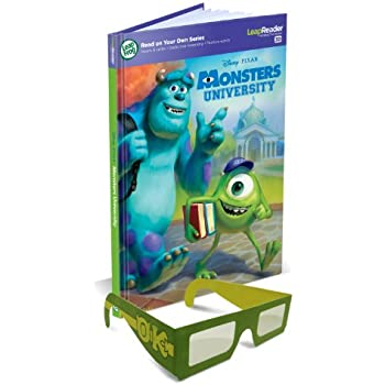 Leapfrog leapreader world map works with tag amazon toys leapfrog leapreader 3d book disney pixar monsters university gumiabroncs Images