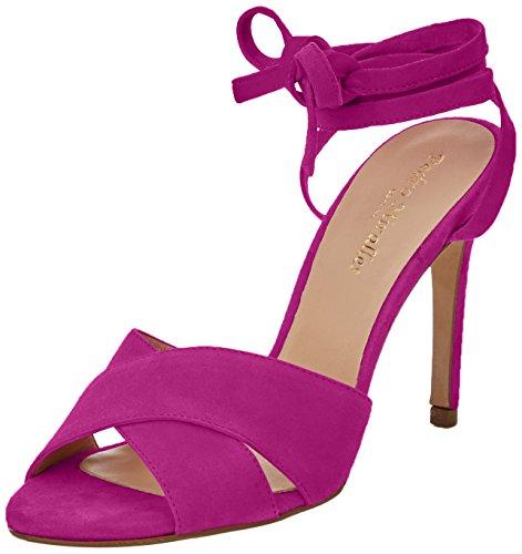PEDRO MIRALLES Damen 19339 Sandalen mit Knöchelriemen Violett (Viola)