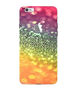For Apple iPhone 7 (Logo View Window Case) rainbow colored icon ( rainbow colored icon, icon, tomato, many icon, icon pattern ) Printed Designer Back Case Cover By TAKKLOO