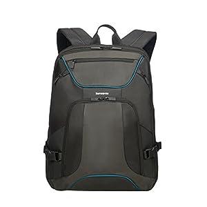 "41pq5TlvBZL. SS300  - Samsonite Kleur - Backpack for 15.6"" Laptop 0.8 KG Mochila tipo casual, 44 cm, 18 liters, Gris (Grey/Anthracite)"