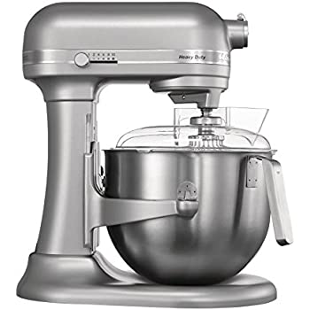 KitchenAid UK 5KSM95PSBCU Stand Mixer with Pouring Shield