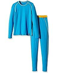 IJP Classique - Conjunto térmico de ropa interior para niño, color blanco, talla XS