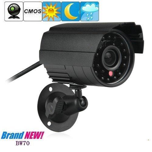 CCTV Bullet Kameras - BW BW70 420TVL CMOS CCTV-Kamera Wetterfest Farbe IR Outdoor Bullet Kamera Überwachungskamera Videoüberwachungskamera