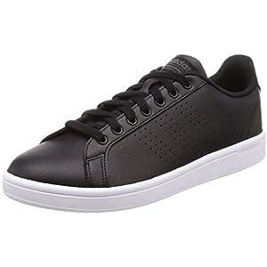 adidas Herren Cloudfoam Advantage Clean Sneaker, weiß, 40 2/3 EU