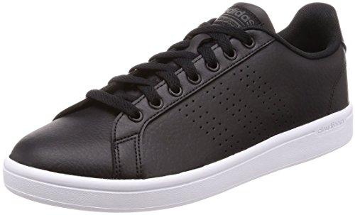 adidas Herren Cloudfoam Advantage Sneaker, Schwarz (Cblack/cblack/dgsogr), 42  EU