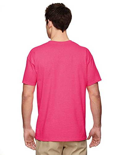 Semi-Trucks auf American Apparel Fine Jersey Shirt SAFETY PINK