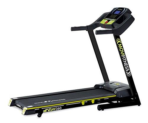 Movi Fitness MF360Laufband mit Neigungswinkel Elektrische, Schwarz