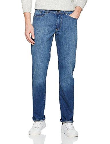Hattric Herren Straight Jeans Indigo