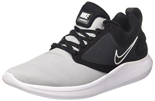 Nike Lunarsolo, Scarpe da Running Uomo Grigio (Wolf Grey/Black/Dark Grey)