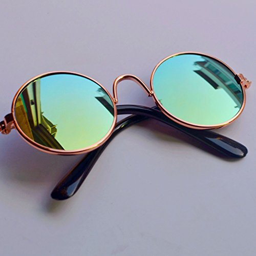 Fuwahahahahahah Puppe Cool Brille Haustier Sonnenbrille für BJD Blyth American Grils Spielzeug Foto Requisiten 1