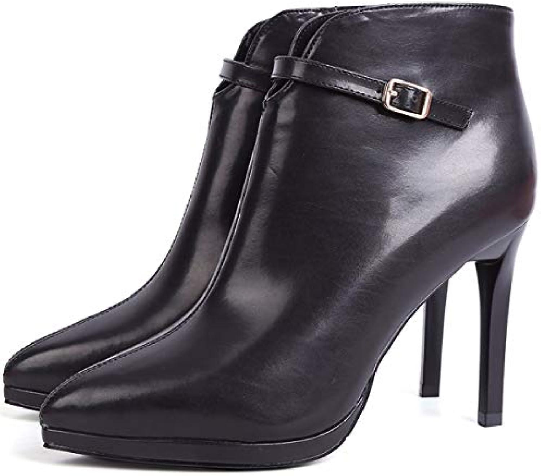 Six KPHY Chaussures Femmes/Les Chaussures De Femme dune Épaisse Couche De Fond Élevés Au Printemps Et en Été La Toile Baotou Les Pantoufles Tête Ronde Le Frenulum White Trente Femme
