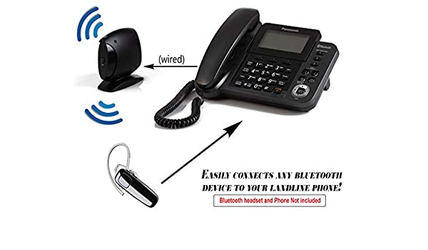 Bluetooth Landline Adapter Convert Your Landline Phone Into A Wireless Bluetooth Device 40 50 Feet Range For Home Or Office Amazon Co Uk Electronics