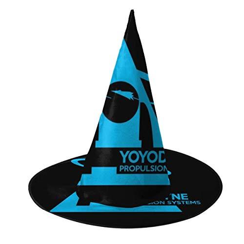NUJSHF Star Trek Yoyodyne Propulsion Systems, Trucker Cap Hexenhut Halloween Unisex Kostüm für Urlaub Halloween Weihnachten Karneval Party