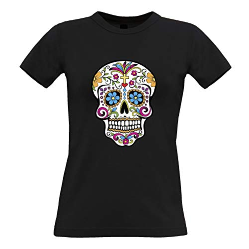 Halloween Schürze des Chefs Skeleton Ribcage Chest White One Size