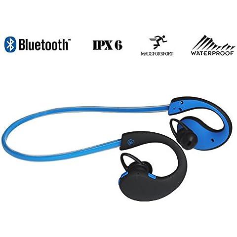 Urbanz Extreme Bluetooth Cuffie Wireless IPX6 Sweatproof Corsa Impermeabile Sport-Cuffie Ear-hook Auricolari con Microfono