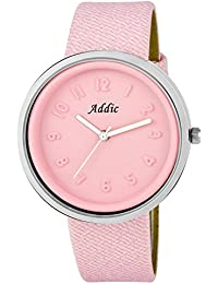 Addic Ice Cream Matt Finish Limited-Edition Cute Pink Watch