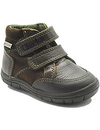 Gorila 17200 - Zapato escolar de piel con cierre de velcro, color marino.