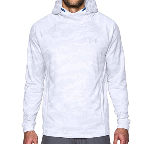 UA Tech Terry Fitted Hoodie - White