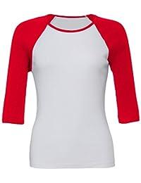 582d007b378a Suchergebnis auf Amazon.de für  baseball shirt damen  Bekleidung