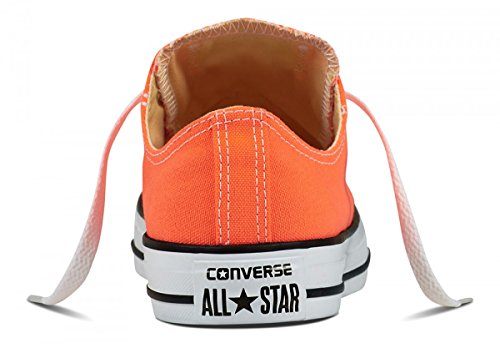Converse Unisex Schuhe Ctas Ox Sneakers Orange (Hyper Orange)