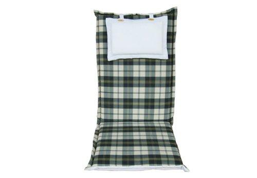 Cuscini Con Schienale Per Sedie Da Esterno : Mebelino ahzk cuscino per sedie da giardino con schienale alto