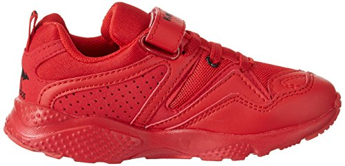 KangaROOS Unisex-Kinder K-Puncher Low-Top Rot (flame red)