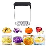 Kartoffelstampfer Edelstahl Kartoffelstampfer Glatte Presse Designed Good Grips Masher Verwendung für Gemüse Obst und Babynahrung