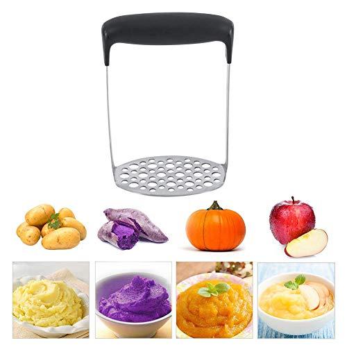 Kartoffelstampfer Edelstahl Kartoffelstampfer Glatte Presse Designed Good Grips Masher Verwendung für Gemüse Obst und Babynahrung Grip Masher