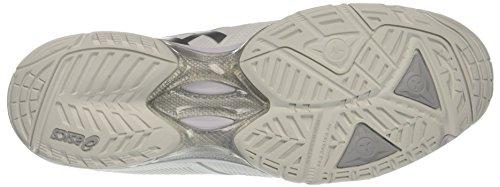 Asics Gel-Solution Speed 3, Scarpe da Ginnastica Donna Bianco (White/Silver)