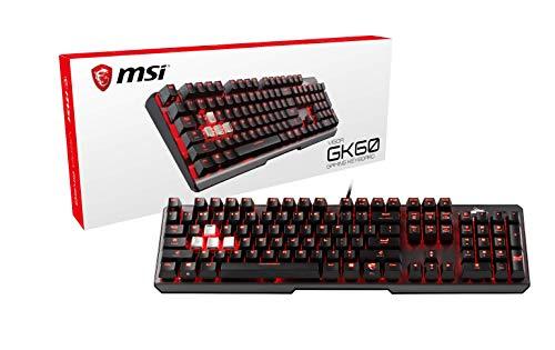 S11 Led (MSI Vigor GK60 Gaming Tastatur Schwarz)