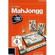 3D Maxi MahJongg (PC) [Import allemand]