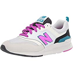 New Balance 997H, Zapatillas para Mujer, Blanco (Sea Salt/Peony), 41.5 EU